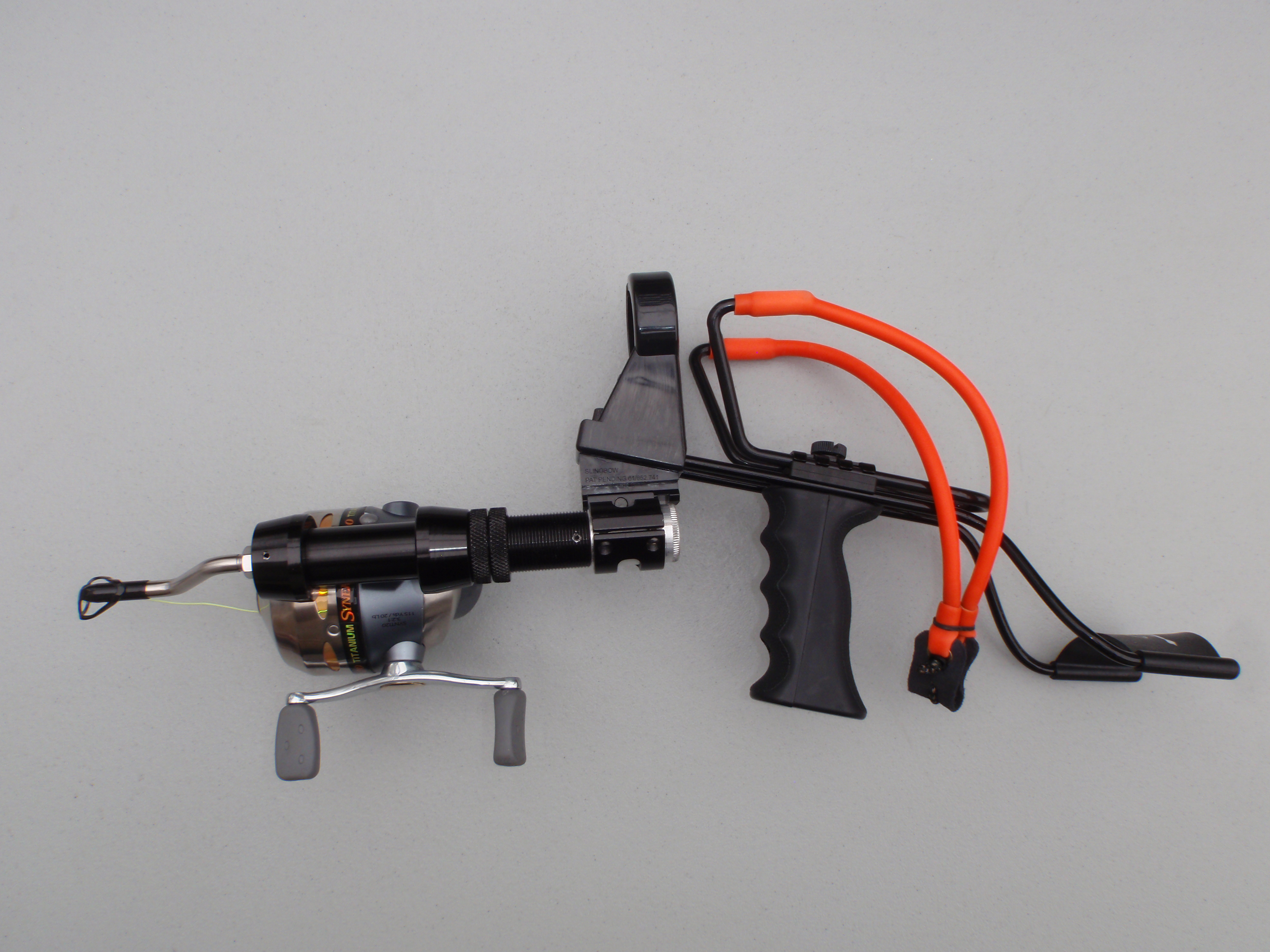 Ranger fishing package slingbow industries for Bow fishing rod